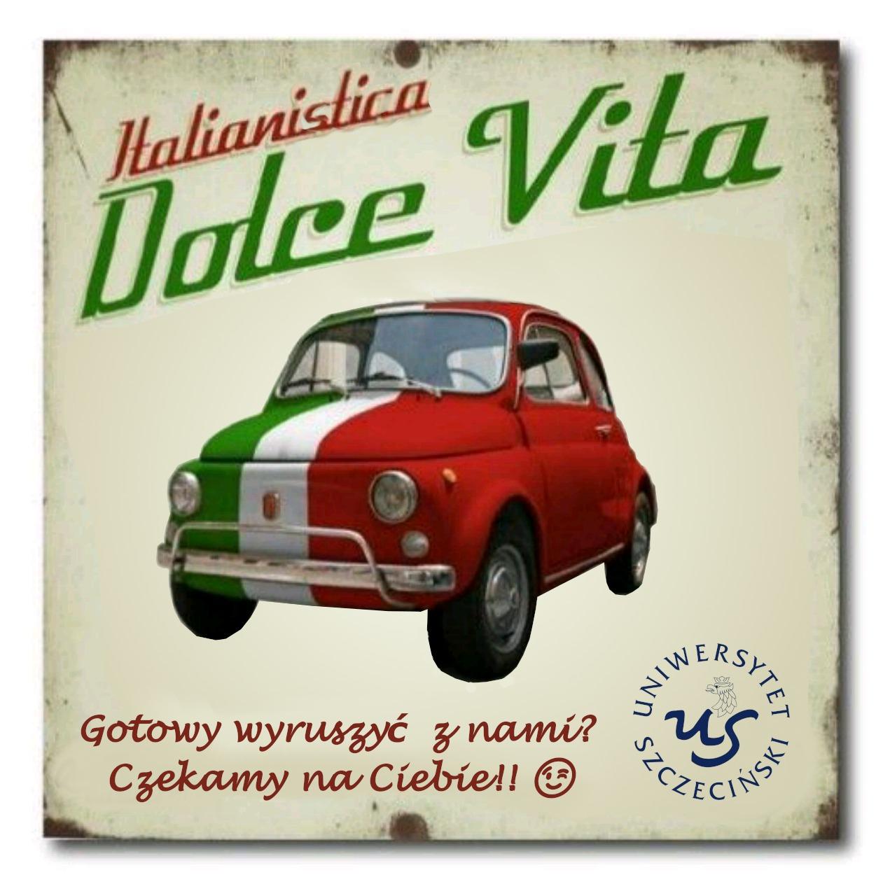 Studiuj italianistykę na US
