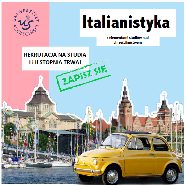 Italianistyka studia I i II stopnia – rekrutacja wciąż trwa