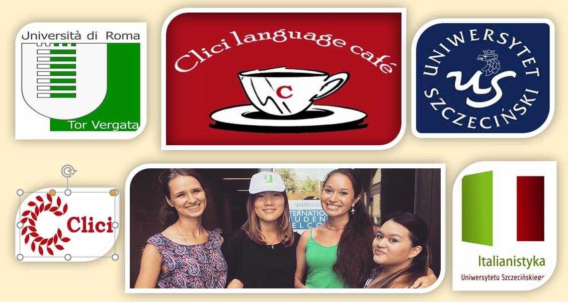 Studenci italianistyki Uniwersytetu Szczecińskiego w Language Cafè