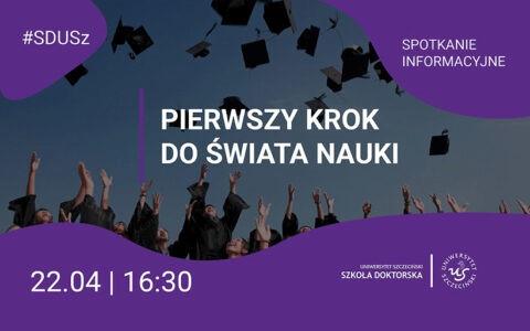 Spotkanie informacyjne dla kandydatów do Szkoły Doktorskiej