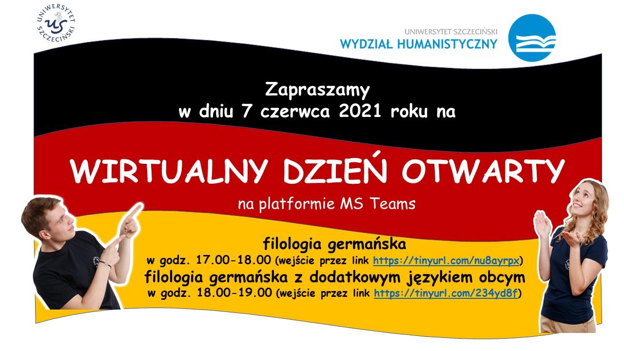 Dni otwarte na Wydziale Humanistycznym –  filologia germańska oraz filologia germańska z dodatkowym językiem obcym