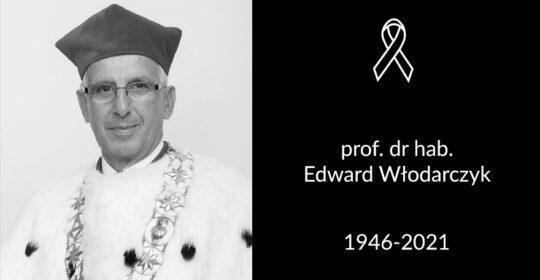 Zmarł prof. dr hab. Edward Włodarczyk – Rektor Senior US